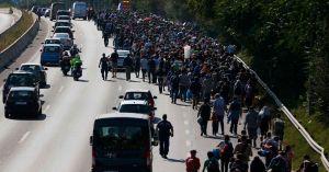 Migranti-marcia-Austria